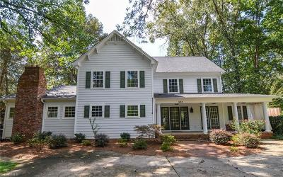 Winston Salem Single Family Home For Sale: 438 Dartmouth Road