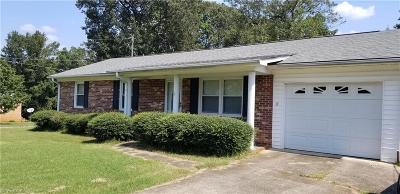 East Bend Single Family Home For Sale: 313 Benbow Drive