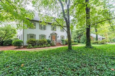 Greensboro Single Family Home For Sale: 1401 Hobbs Road