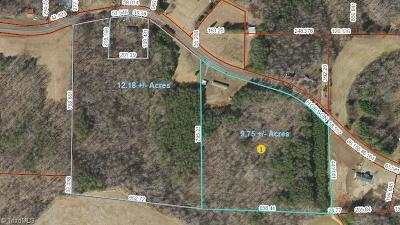 Yadkin County Residential Lots & Land For Sale: 3716 & 0 Hobson Road