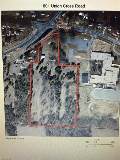 Winston Salem Residential Lots & Land For Sale: 1801 Union Cross Road