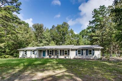 Asheboro Single Family Home For Sale: 6472 Pisgah Covered Bridge Road