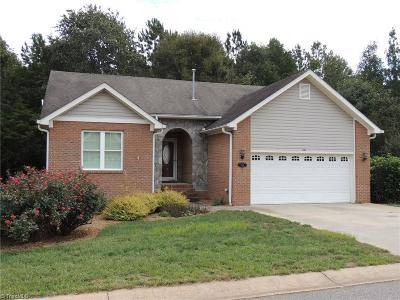 Mocksville Single Family Home For Sale: 160 New Hampshire Court