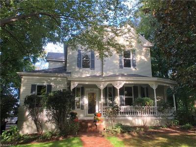 Winston Salem Single Family Home For Sale: 633 N Spring Street