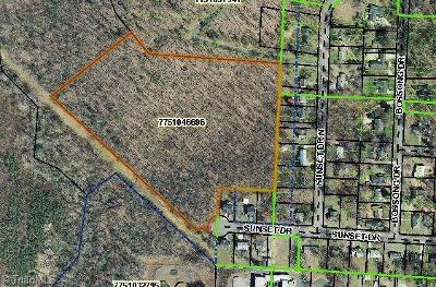 Asheboro Residential Lots & Land For Sale: 00 Sunset Drive