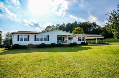 Alexander County Single Family Home For Sale: 1623 Huckleberry Ridge Road