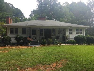 Single Family Home For Sale: 3144 Nc Highway 109