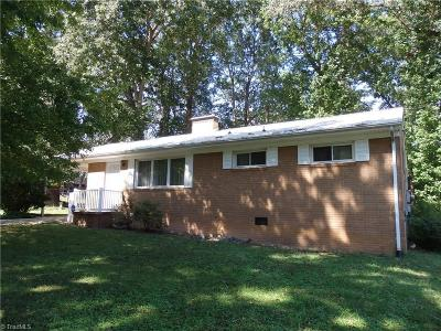 Asheboro Single Family Home For Sale: 571 Brookwood Drive