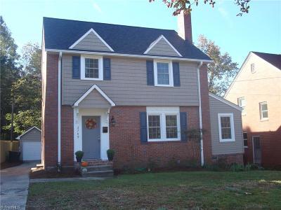 Greensboro Single Family Home For Sale: 2709 Camden Road