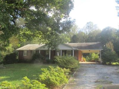 Kernersville Single Family Home Due Diligence Period: 7280 Vance Road