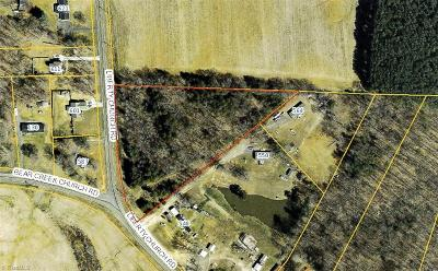 Davie County Residential Lots & Land For Sale: 00 Liberty Church Road