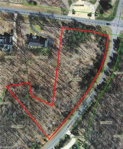 Asheboro Residential Lots & Land For Sale: 00 Viewmont Drive