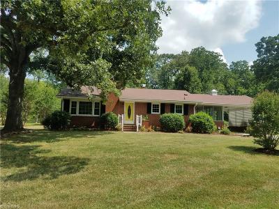 Asheboro Single Family Home For Sale: 331 Croomcrest Road