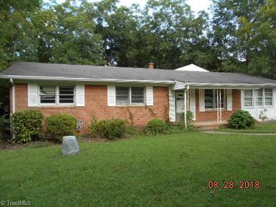 Reidsville Single Family Home For Sale: 2607 Urban Loop Road