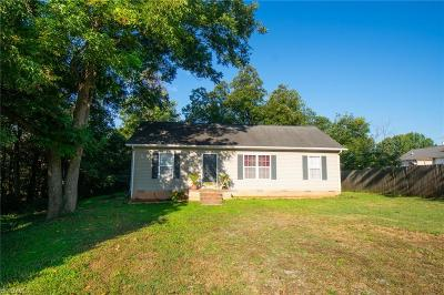 Gibsonville Single Family Home For Sale: 604 Smith Street