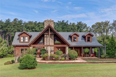 Reidsville Single Family Home For Sale: 1420 County Home Road