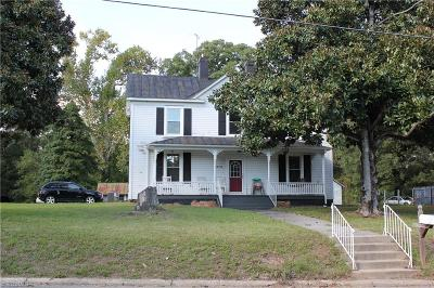 Reidsville NC Single Family Home For Sale: $97,000