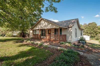 Reidsville Single Family Home For Sale: 881 Camp Dan Valley Road