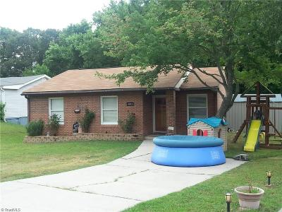 High Point Single Family Home For Sale: 1002 Burton Avenue