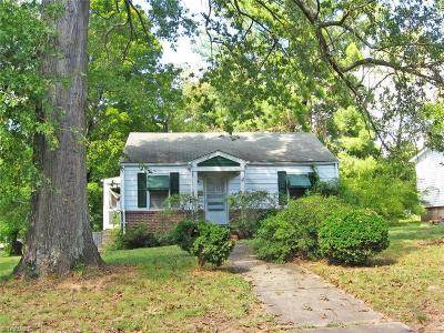 Rockingham County Single Family Home For Sale: 917 Burton Street