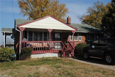 Winston Salem Single Family Home For Sale: 437 Bacon Street