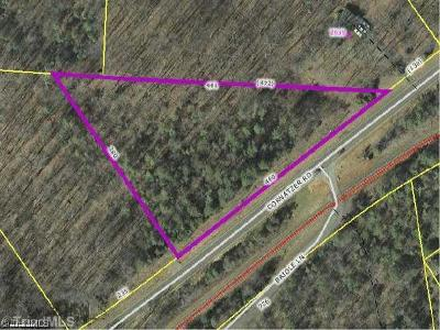Davie County Residential Lots & Land For Sale: 1 Cornatzer Road