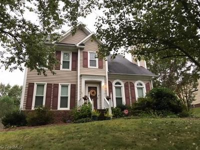 Jamestown Single Family Home For Sale: 4410 Spring Meadow Place