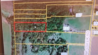 Davie County Residential Lots & Land For Sale: 00 Cedar Creek Road