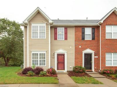 Winston Salem Condo/Townhouse For Sale: 1860 Olivers Crossing Circle