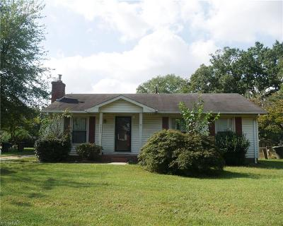 Greensboro NC Single Family Home For Sale: $89,900