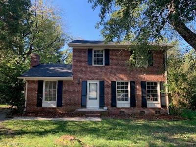Greensboro NC Single Family Home For Sale: $124,500