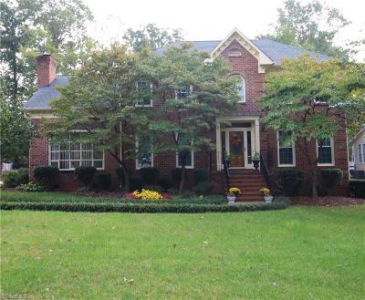 Greensboro Single Family Home For Sale: 1508 Double Oaks Road