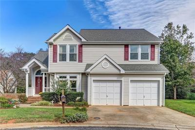 Greensboro Single Family Home For Sale: 3209 Van Allen Circle