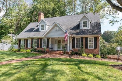 Kernersville Single Family Home For Sale: 5108 River Chase Ridge