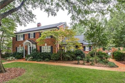 Greensboro NC Single Family Home For Sale: $815,000
