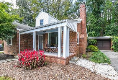 Greensboro Single Family Home For Sale: 510 Benjamin Parkway