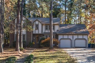 Raleigh Single Family Home For Sale: 7804 Harps Mill Road
