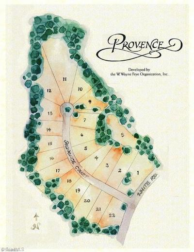 Residential Lots & Land For Sale: Provence Court