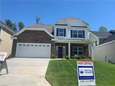 Surry County, Davie County, Yadkin County, Stokes County, Forsyth County, Davidson County, Rockingham County, Guilford County, Randolph County, Caswell, Alamance County Single Family Home For Sale: 2046 Cold Creek Court #25