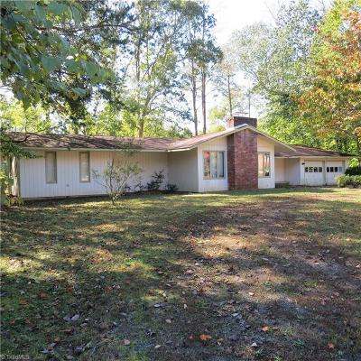 Reidsville NC Single Family Home For Sale: $125,000