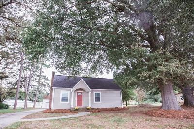 Guilford County, Forsyth County, Davidson County, Randolph County, Surry County, Yadkin County, Davie County, Stokes County, Rockingham County, Caswell County, Alamance County Single Family Home For Sale: 288 N Leonard Road