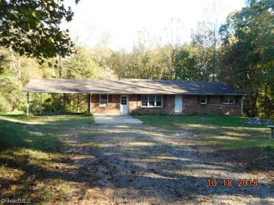 Single Family Home For Sale: 1114 Piney Grove Road