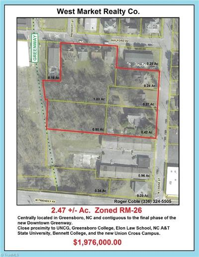 Greensboro Residential Lots & Land For Sale: 409 Guilford Avenue