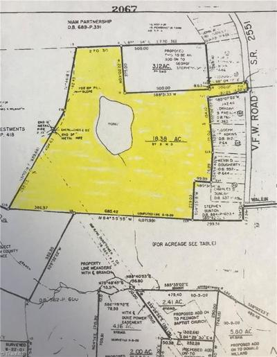 Reidsville Residential Lots & Land For Sale: Penn Lake Drive