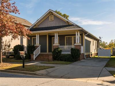 Guilford County Single Family Home Short Sale Contingent: 707 Dunbar Street
