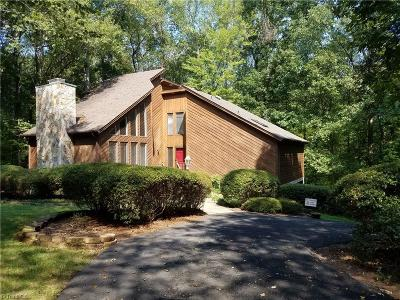 Stoneville Single Family Home For Sale: 147 Deertract Loop
