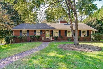 Winston Salem Single Family Home Due Diligence Period: 873 Kenwick Drive