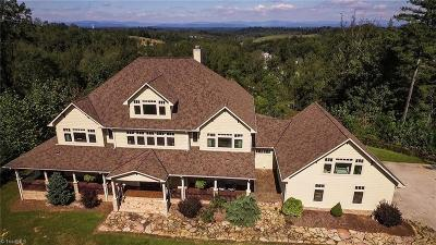 Wilkesboro NC Single Family Home For Sale: $1,050,000