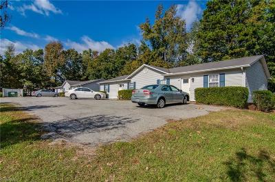 Asheboro Multi Family Home For Sale: 206,208,216,218 McNeal Street