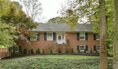 Winston Salem Single Family Home For Sale: 3603 Dewsbury Road